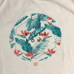 Billabong  print short sleeve T-shirt size L